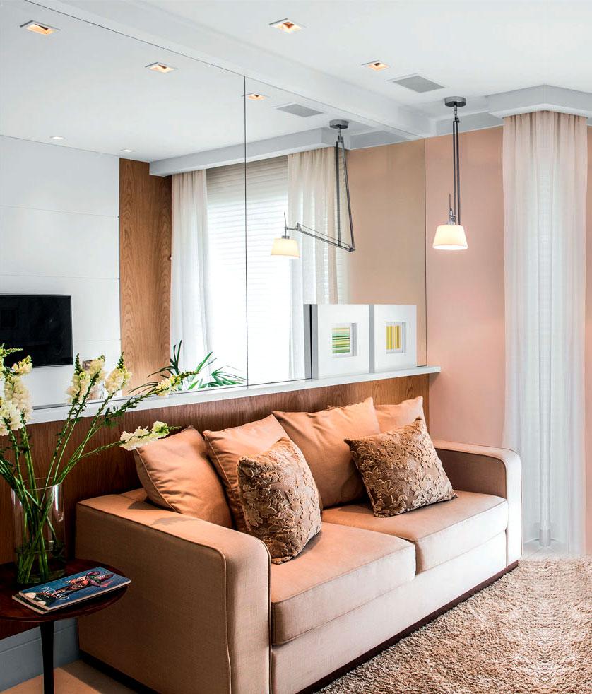 5 ideias de decora o para apartamentos pequenos for Imagenes de apartamentos pequenos