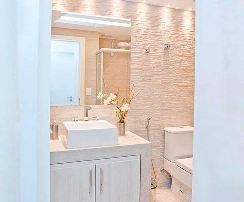 Imagem De Banheiros Pequenos Decorados : Tend?ncias e ideias de banheiros decorados
