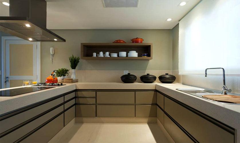 Cozinhas Modernas Tendências de Decorações # Bancada Cozinha Tamanho Ideal