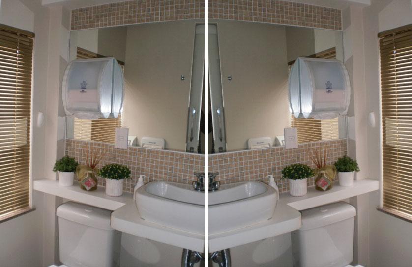 Tendências e Ideias de Banheiros Decorados -> Banheiros Simples E Decorados