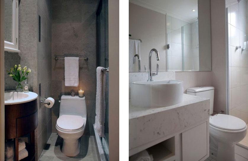 Banheiros Modernos Assim Eu Gosto : Banheiros pequenos assim eu gosto melhor inspira??o para