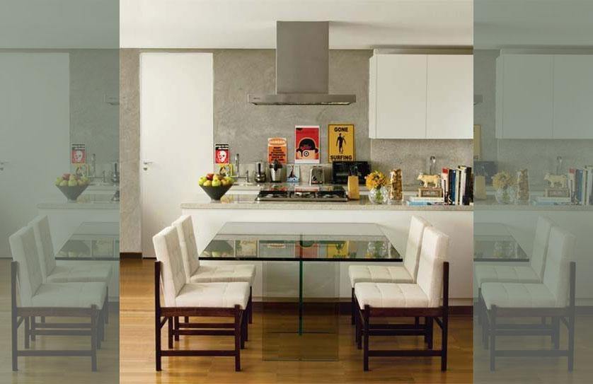 cozinha-pequena-com-mesa-de-vidro