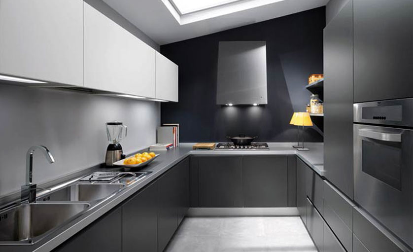 cozinha-pequena-cinza