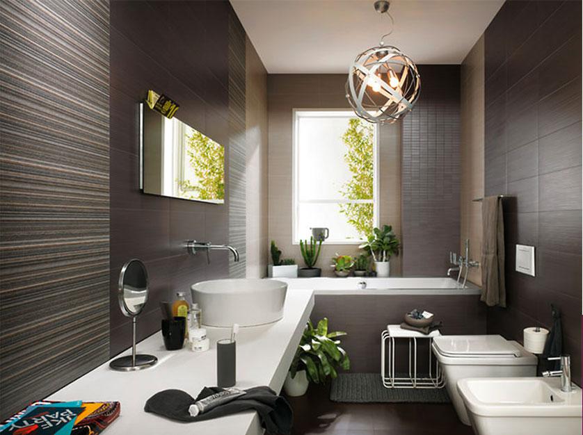 Ideias Para Banheiro Preto E Branco : Tend?ncias e ideias de banheiros decorados