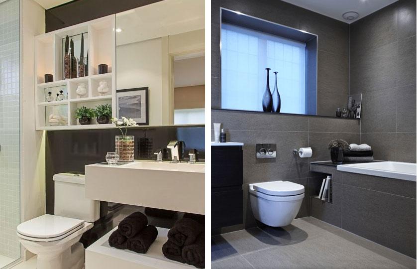 Ideias Para Banheiro Preto E Branco : Banheiro decorado em preto e branco liusn obtenha