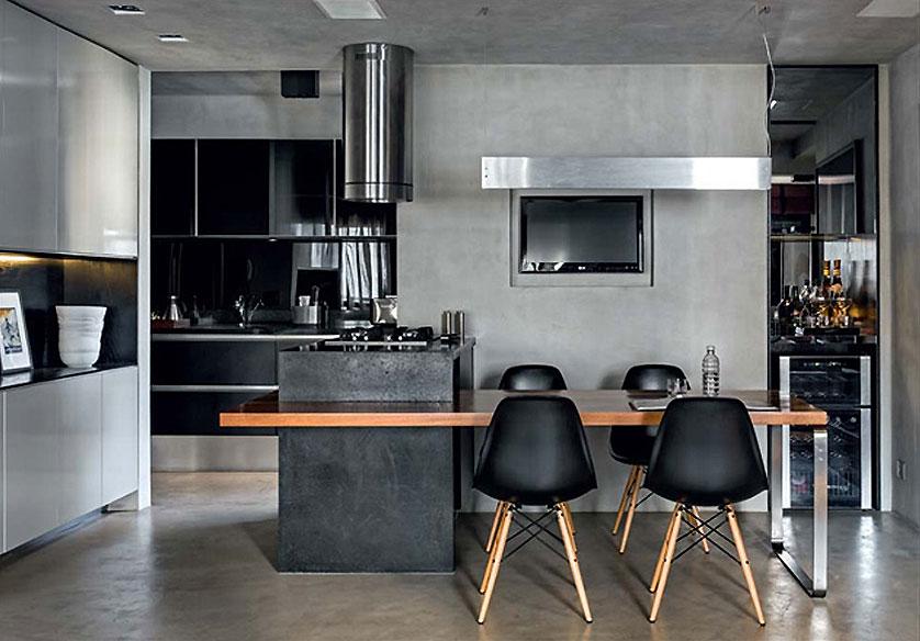 cozinha-pequena-urbana-e-masculina