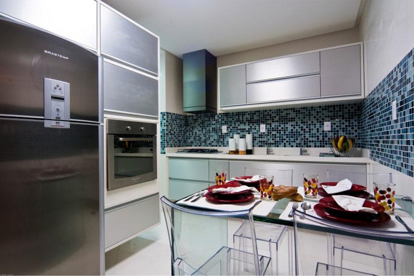 Imagem 05 – Cozinha com Pastilha Azul