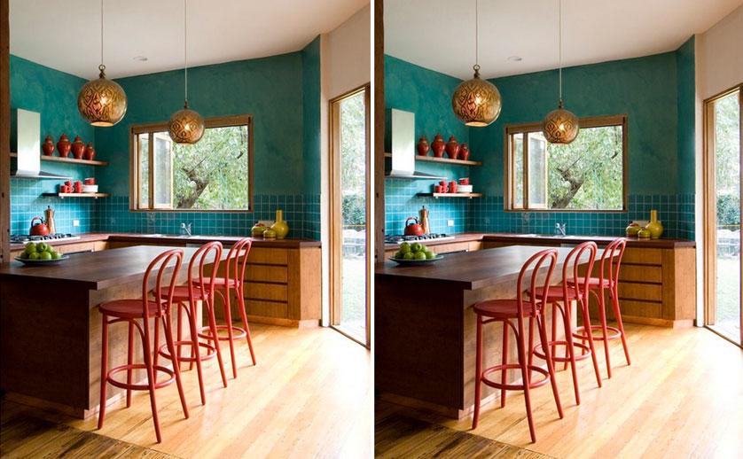 cozinha-pequena-colorida-em-azul