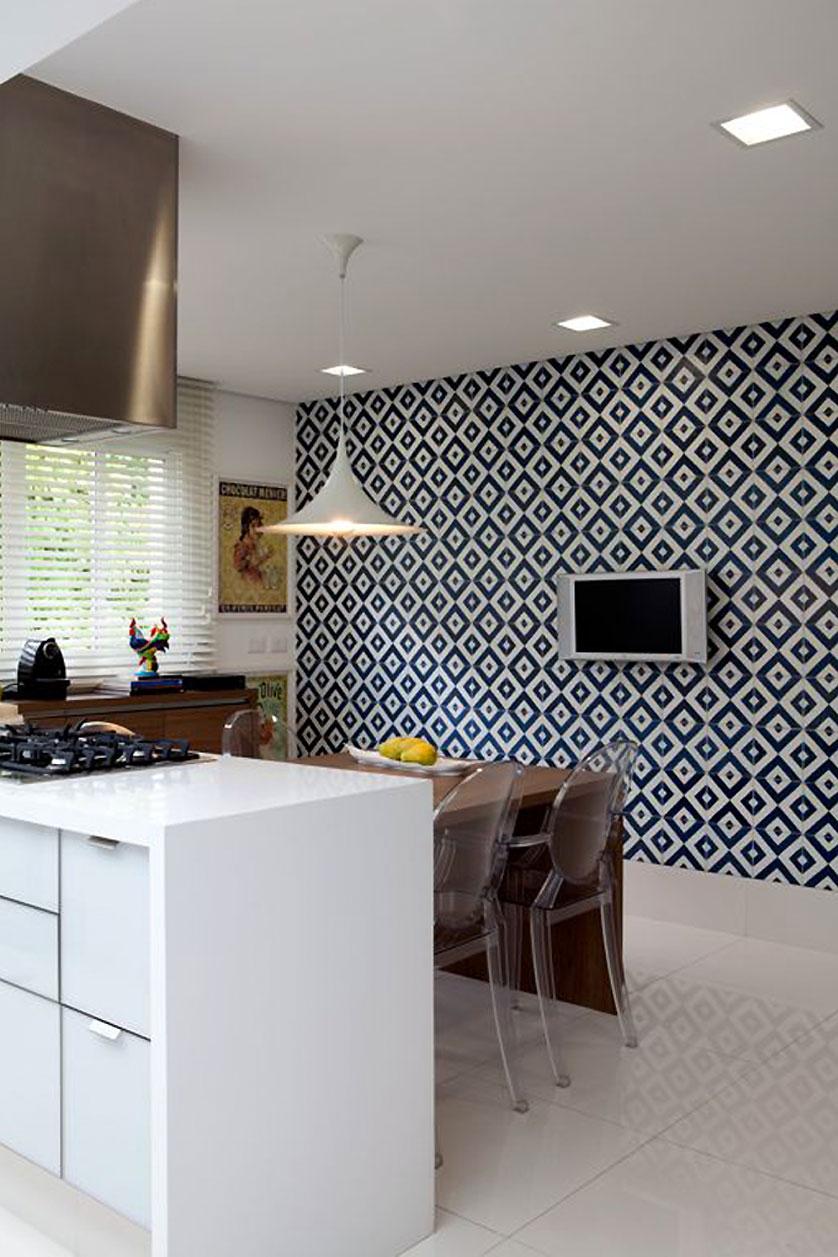 Cozinha Pequena 80 Inspira Es De Decora O ~ Cozinha Decorada Com Pastilhas