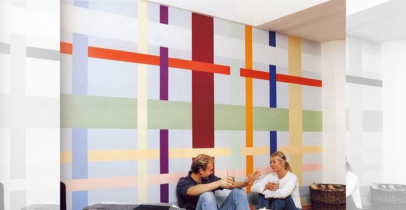 Decora o de parede 12 ideias inspiradoras cer mica - Pintura para pared lavable ...