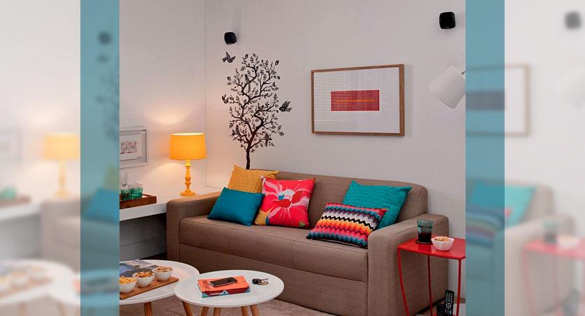 Como Decorar Sala De Estar Pequena E Simples ~ Além de encher o ambiente de charme, pois dá um ar contemporâneo