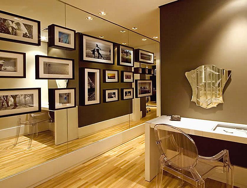 Decora o de parede 12 ideias inspiradoras cer mica burguina - Fotografias para paredes ...