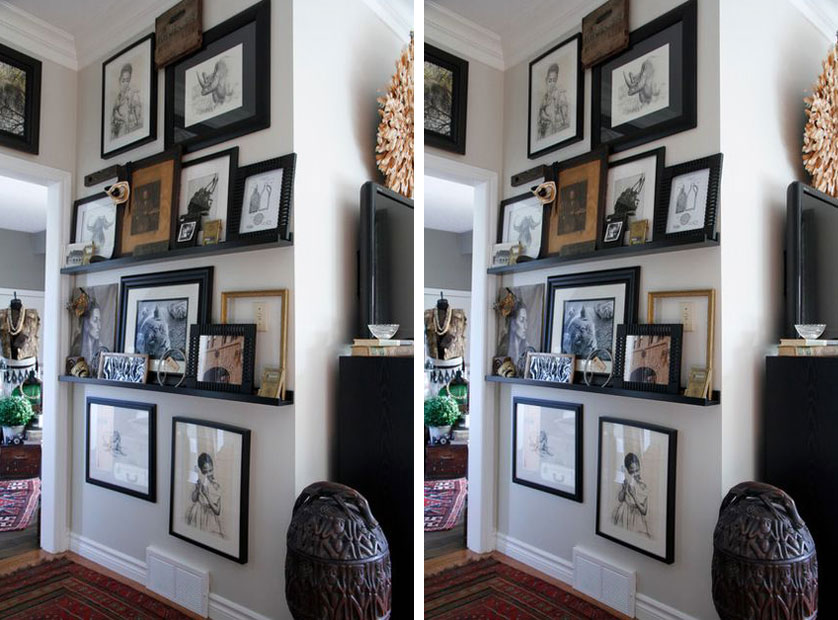 quadros decorativos gallery wall