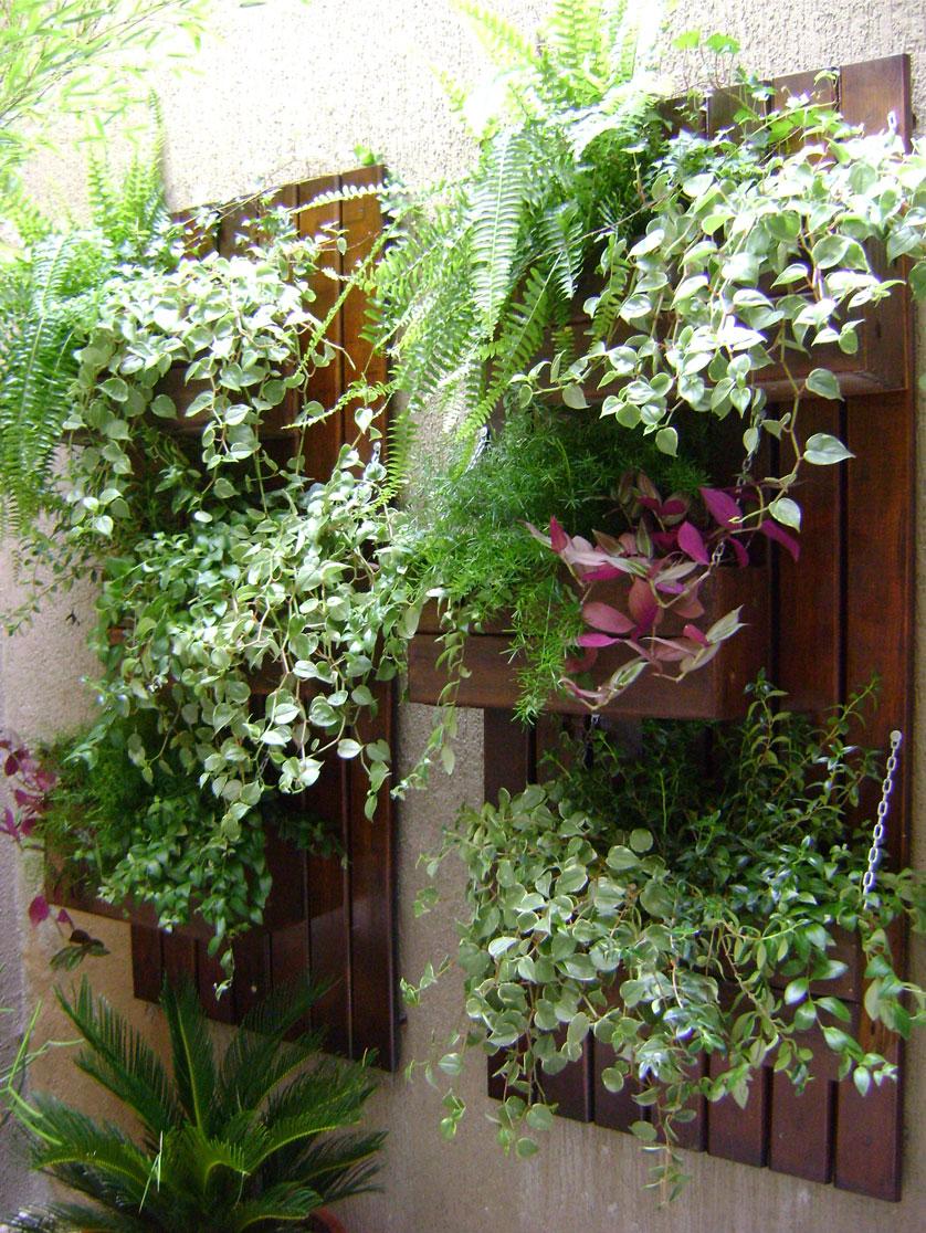 10 Dicas para Repaginar sua Decoraç u00e3o de Jardim -> Decoração Para Jardins Com Paletes