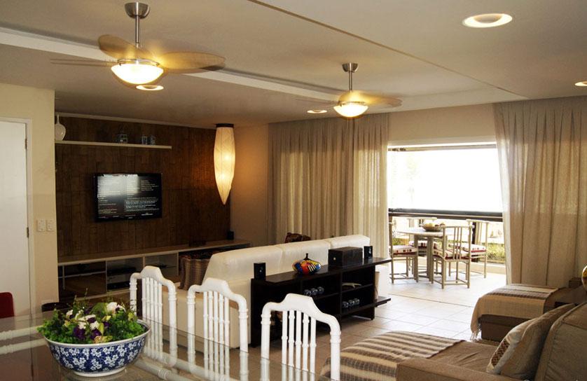 18 dicas de decora o com pendentes e lustres para sala for Apartamentos modernos 2016