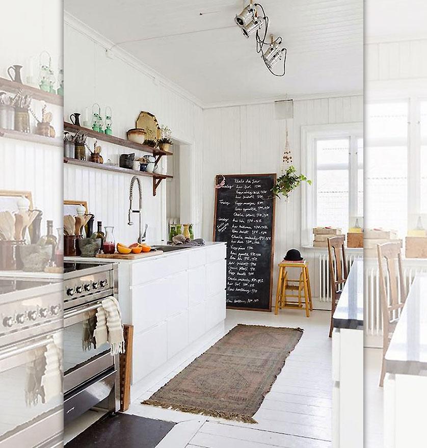quadro negro para cozinha