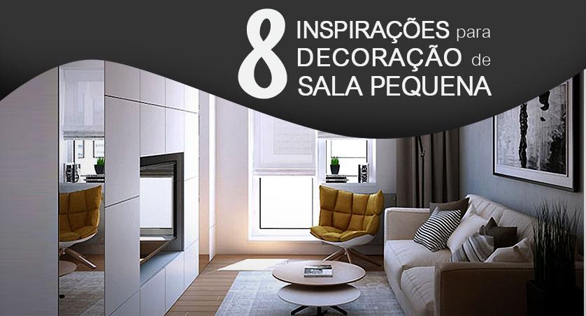 8 inspira es para decora o de sala pequena for Sala de 9 metros quadrados