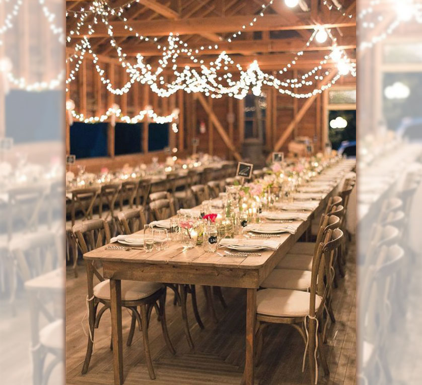decoração de festa de casamento
