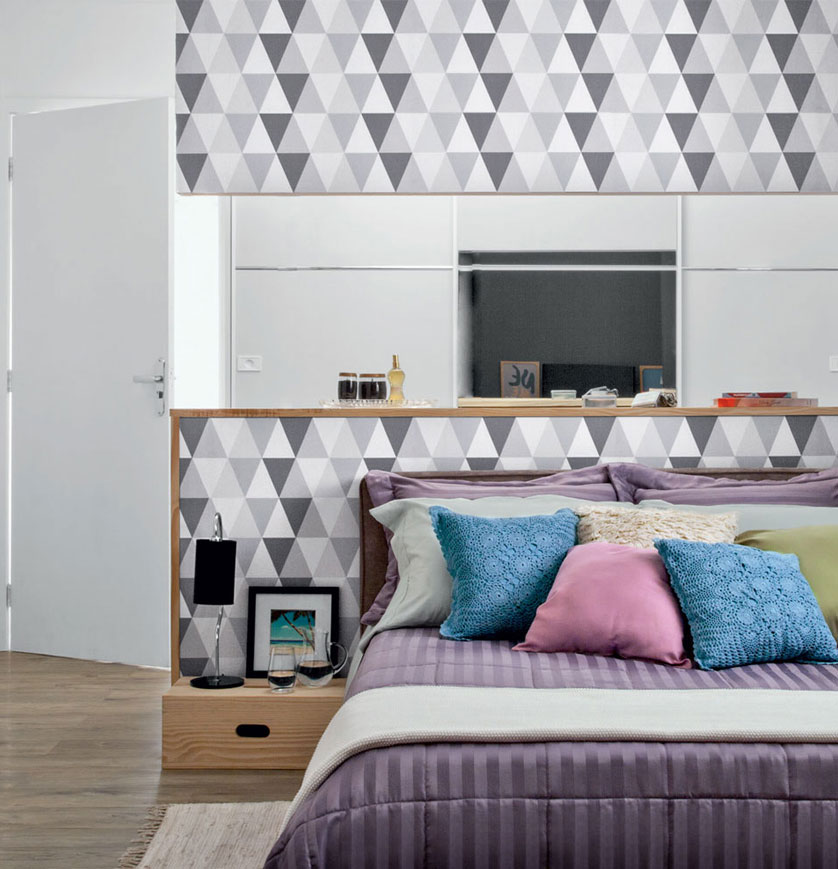 papel de parede geometrico