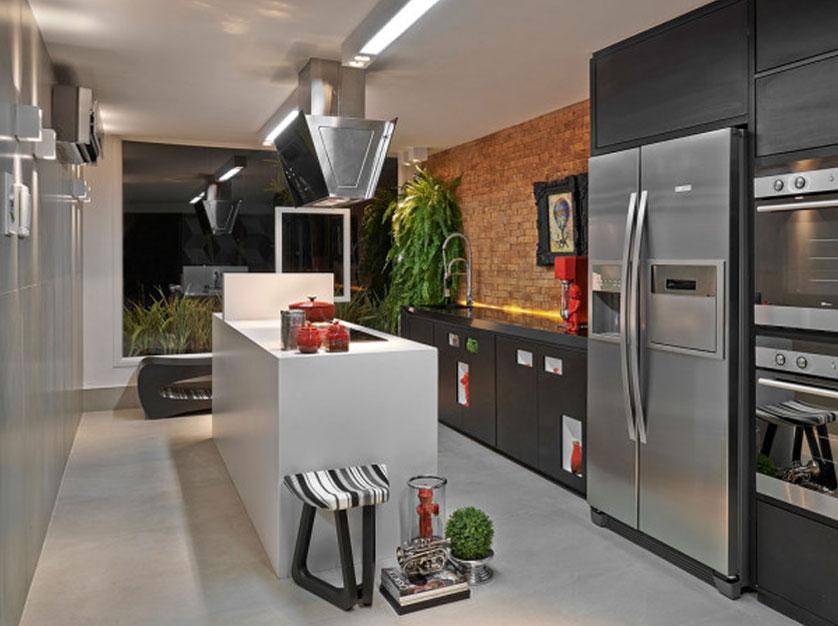 Cozinha com ilha 5 tend ncias inspiradoras for Aberturas para casas modernas