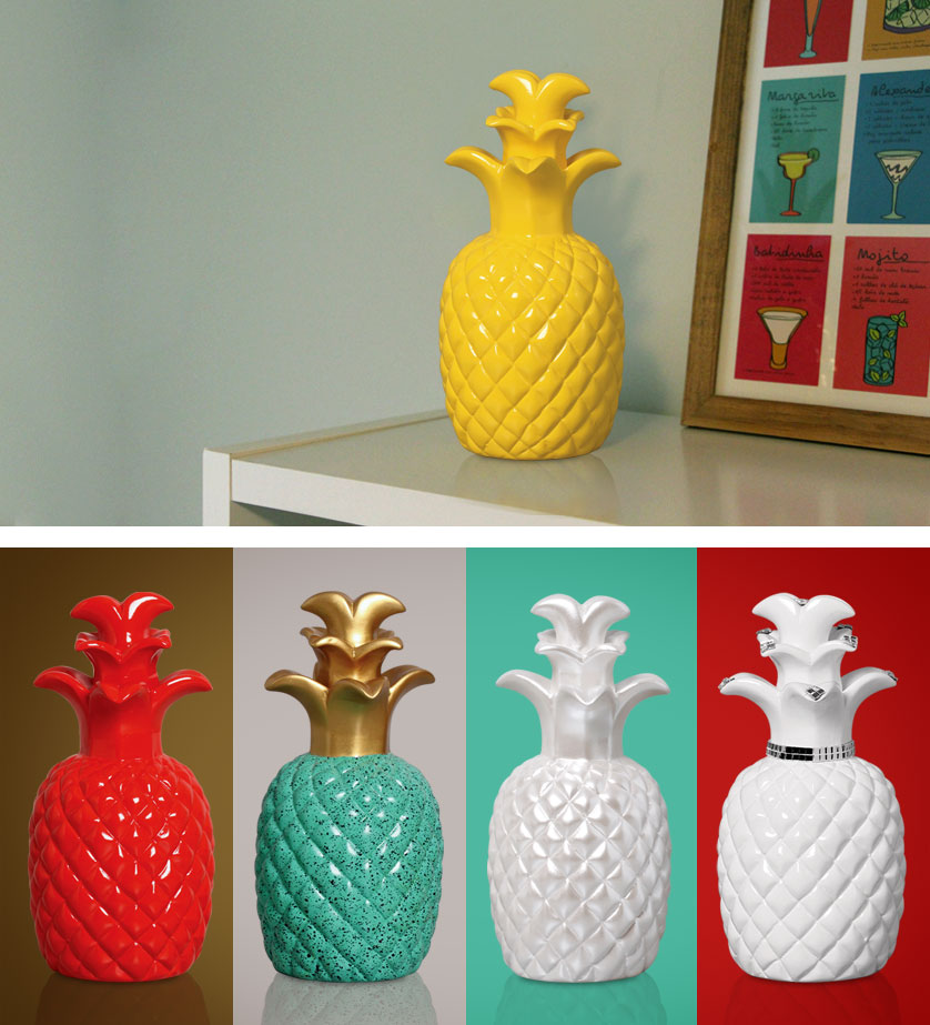 Abacaxi Decorativo como Presente no dia das mães