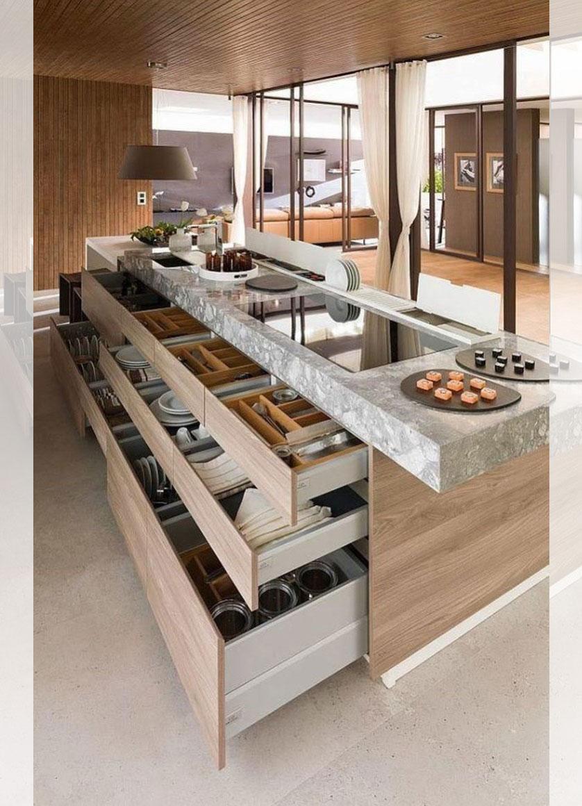 Cozinha Com Ilha 5 Tend Ncias Inspiradoras