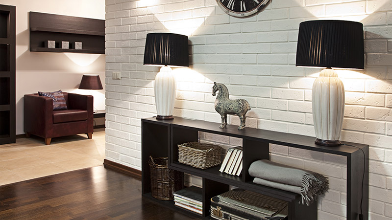 8 modelos de aparador para sala cer mica burguina. Black Bedroom Furniture Sets. Home Design Ideas