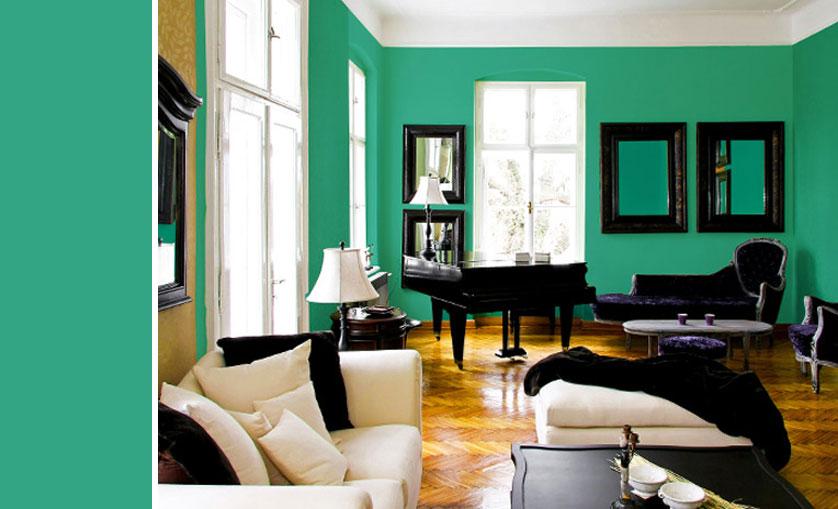 Sala De Tv Cor Verde ~ Dica 08 – Paredes verdes!
