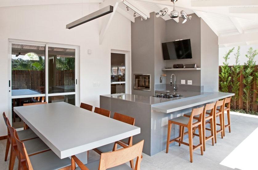 Varanda gourmet 8 ideias incr veis for Casa moderna numero 2