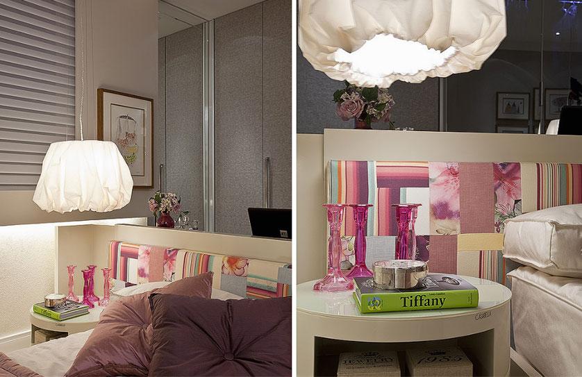 decoração de quarto feminono