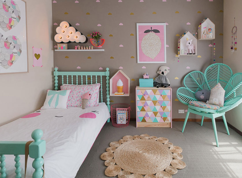quarto feminino infantil