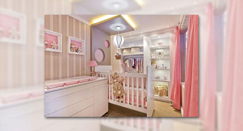 quarto feminino para bebê
