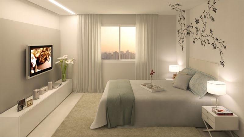 Decora o de casas pequenas 10 dicas de tirar o f lego for Nuevo estilo dormitorios matrimonio