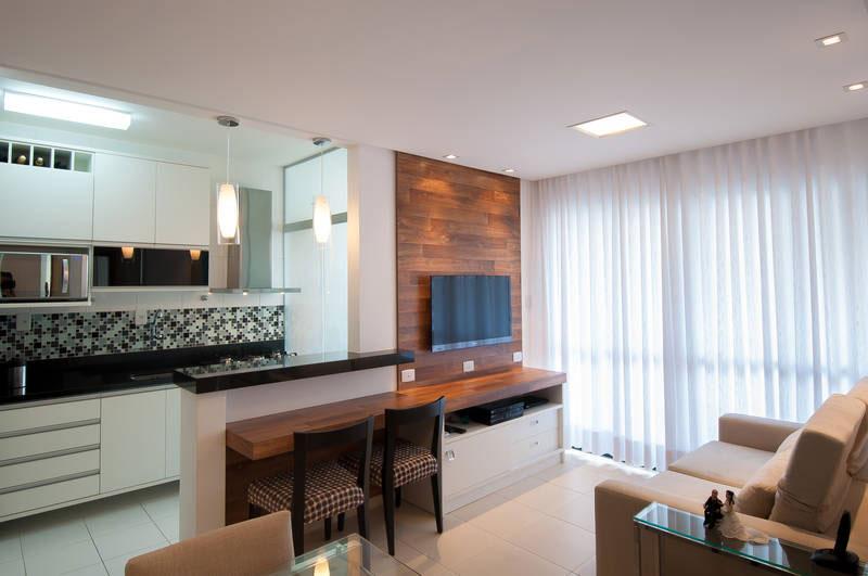 Cozinhas americanas 18 modelos que voc precisa conhecer for Apartamentos pequenos bien decorados