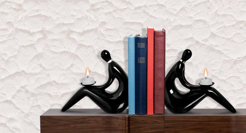 porta-livros-preto